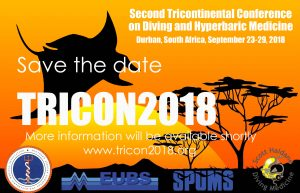 TRICON2018 - 2nd Tricontinental Meeting on Diving and Hyperbaric Medicine @ Elangeni Hotel | Durban | KwaZulu-Natal | South Africa