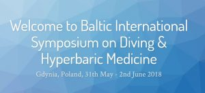 Baltic International Symposium on Diving & Hyperbaric Medicine @ Hotel Nadmorsky   Gdynia   pomorskie   Poland