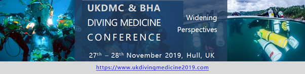 UKDMC & BHA Diving Medicine Conference @ Hull City Hall